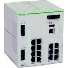 Коммутатор CONNEXIUM (MANAGED) 14TX/2FX SchE TCSESM163F2CU0